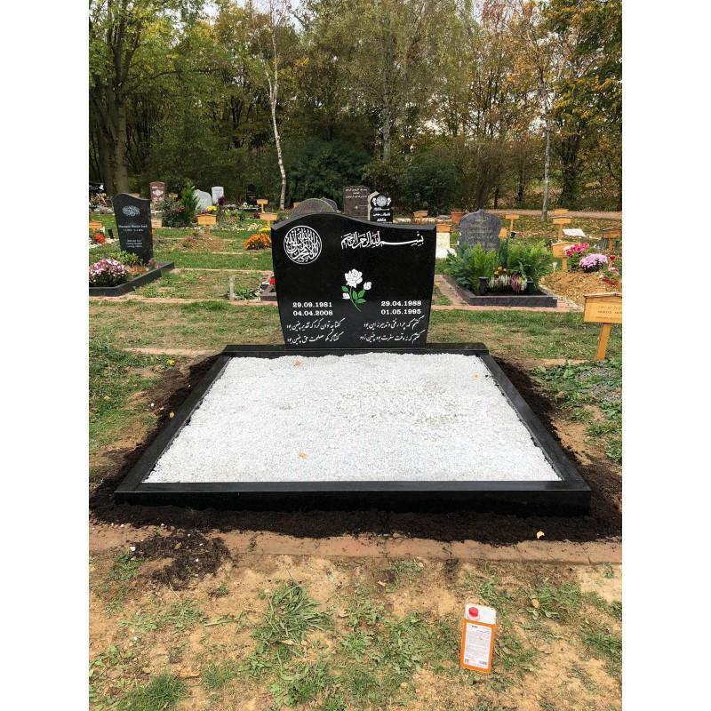 Doppelgrabstein 1020 Modell